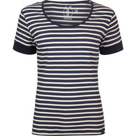 Elkline Strandläufer Camiseta Mujer, blueshadow-white